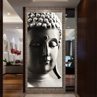 hanging painting Free shipping buddha art canvas Wall art ...