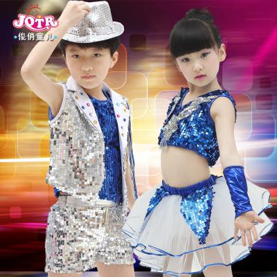 ... ropa para niñosUS  17.69 Moda niños niñas hip hop Jazz baile trajes  lentejuelas estándar salón de baile rendimiento etapa danza de los niñosUS   20.65 ... 8e7443f103f