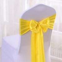 Popular Yellow Chair Sashes-Buy Cheap Yellow Chair Sashes ...