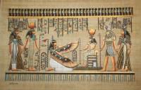 "Wall Art Egyptian Papyrus ""King Tut Cleopatra Nefertiti ..."