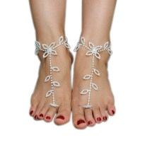 Compare Crochet Sandal- Online Shopping