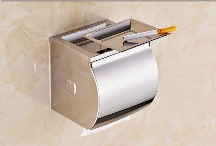 √Baño caja de pañuelos de acero inoxidable caja del tejido ...