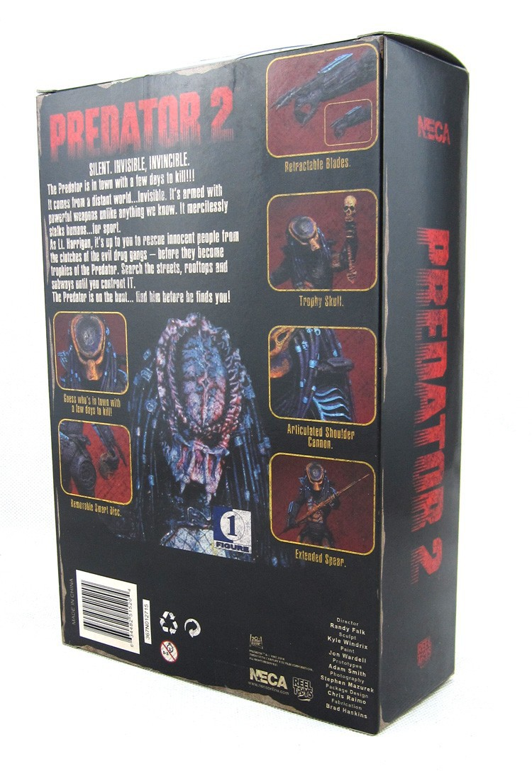 ⑥2 unids sci-fi Predator 2 City Hunter + Aspecto NECA Alien Alien 3 ...