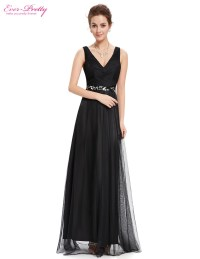 Prom Dresses Fast Shipping Sexy V neck Ever Pretty Long ...