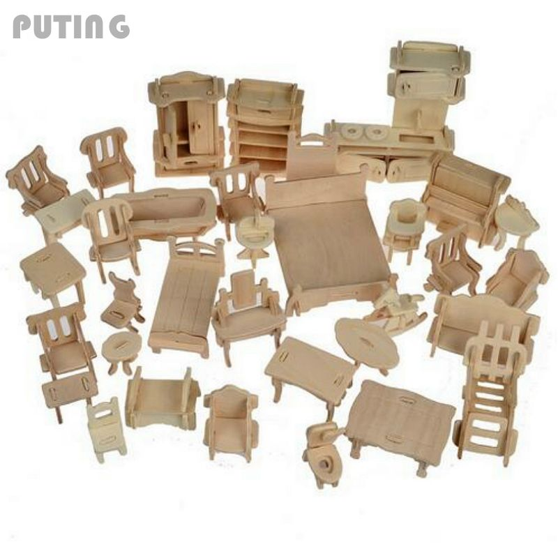 Popular Modern Dollhouse Furniture Sets