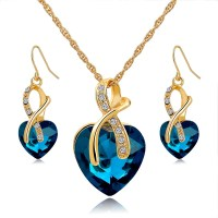 Aliexpress.com : Buy Gift! Gold Plated Jewelry Sets For ...