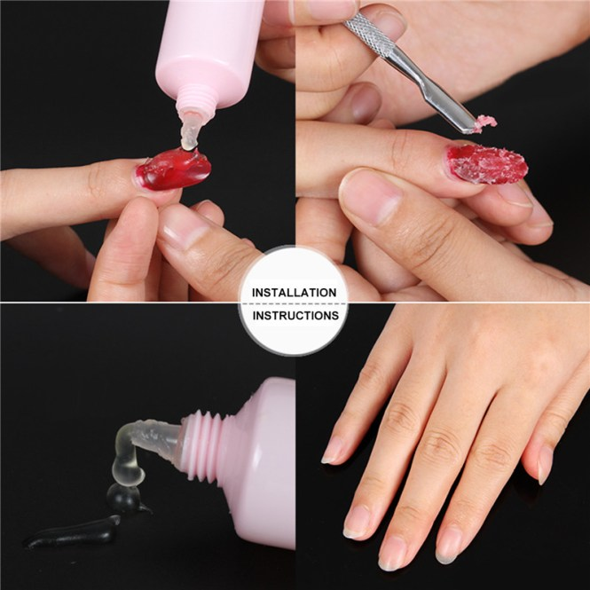 Easy Way To Remove Nail Polish Removing
