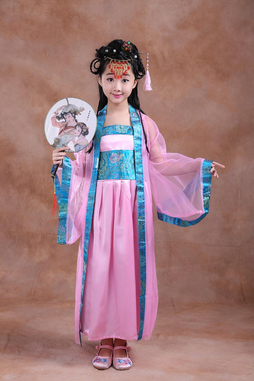 ჱDe los niños nacionales Niñas mostrar ropa antiguo traje Baile ...