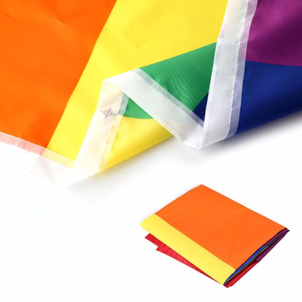 ᑎ‰3x5FT Venta caliente banderas y banderas del arco iris 90x150 cm ...