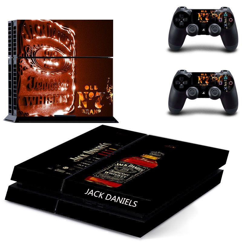 இJack Daniels For PS4 Console Stickers For Sony PlayStation 4 ...