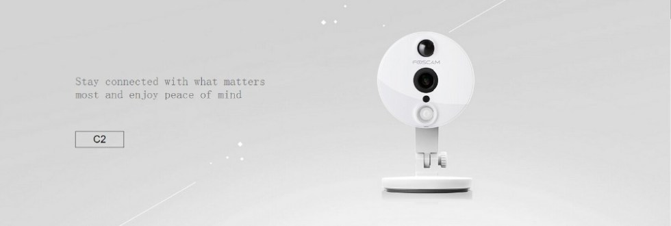 Newest Foscam C2 1080P 2MP HD WiFi PnP IP Security Camera ONVIF 120 Degree Wide Viewing Angle