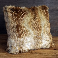 faux fur throw pillows  Roselawnlutheran