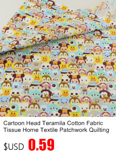 Little Fourré Enfants Nursery Rétro Style Vintage 100/% coton quilting tissu
