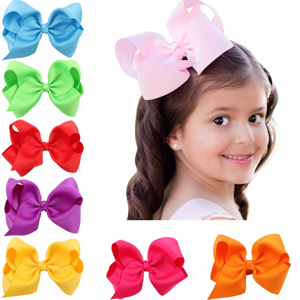 MSOO Toddler Baby Kids Girls Solid Bow Ribbons Breathable Hat Bucket Cap