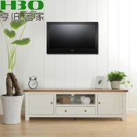 Solid wood furniture / living room TV cabinet / wood TV ...