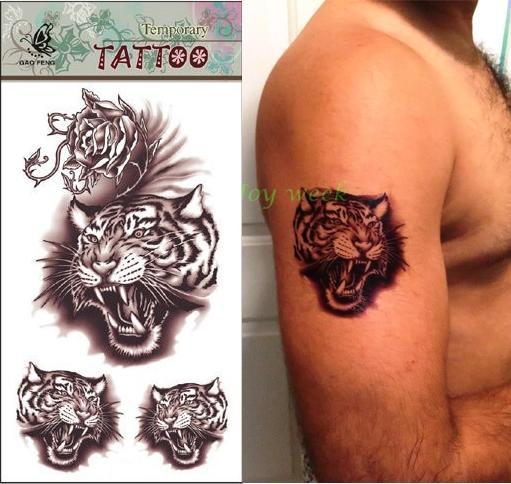 popular temporary tiger