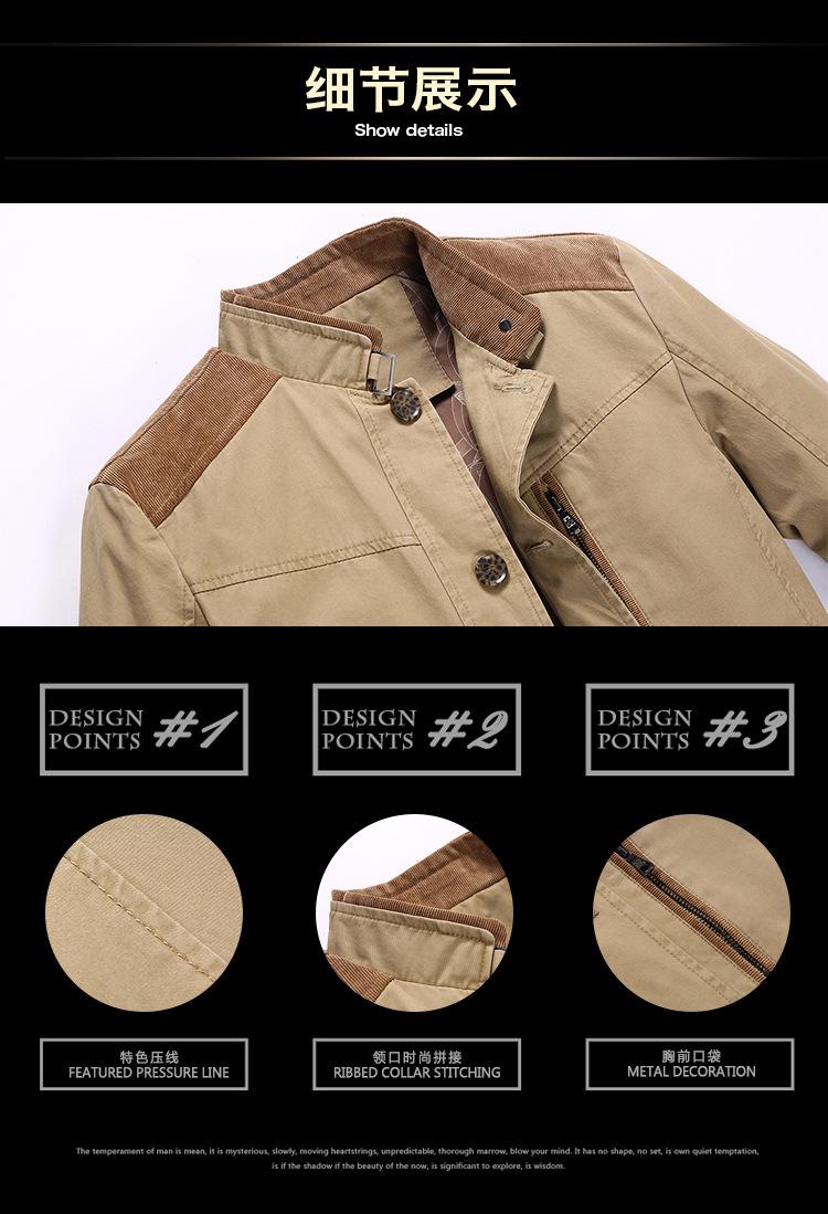d61ced20638ec Удобные Бизнес джентльмен пальто зима мужской пальто Стенд воротник хлопок  модная мужская куртка осень тонкий Повседневное Стиль hn8028. Load More.