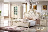 Antique style french furniture elegant bedroom sets PC 013 ...