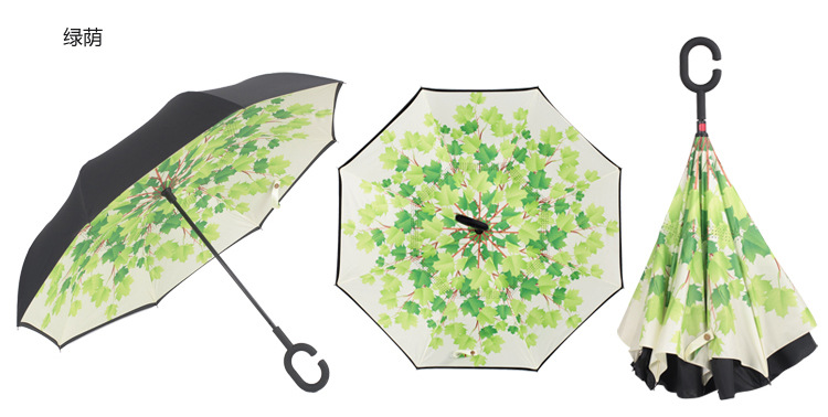 Maya Symbols Automatic Tri-fold Umbrella Novel Windproof Anti UV Rain//Sun Travel Umbrella Light Weight.