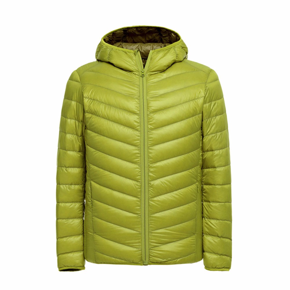 ᗛHombres invierno Abrigos mens algodón ultra ligero chaqueta y ...