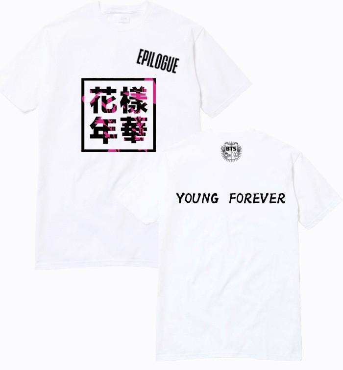 ộ_ộ ༽Kpop chemise mode enfants bts couverture de l\'album bangtan ...