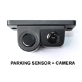 2 IN1 Car Parking Assistance Rear View Camera Backup Camera With Parking Sensor Waterproof Show Image