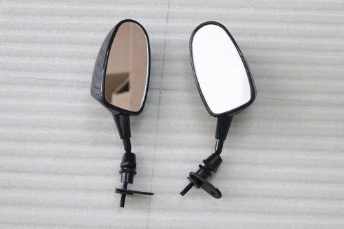 웃 유nuovo trasporto libero nero specchi del motociclo per yamaha
