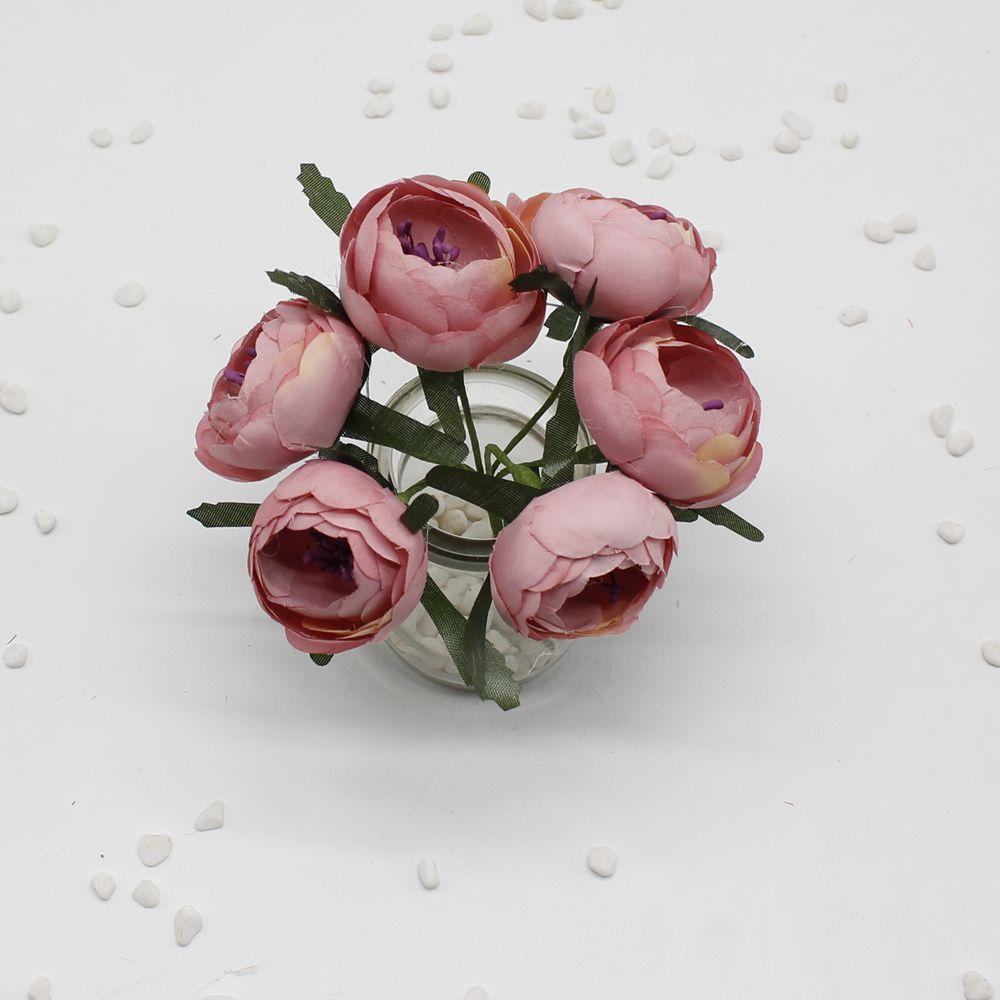 30pcslot Artificial Rose Silk Flower Peony Flowers Wedding
