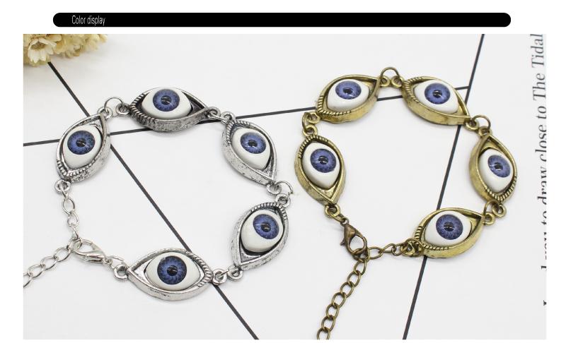 2017 Vintage Joyeria De Moda 5 Bright Eyes Pulsera Cool Brazaletes