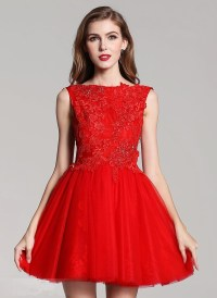 Aliexpress.com : Buy Red Mini Party Lace Dress Sexy Short ...