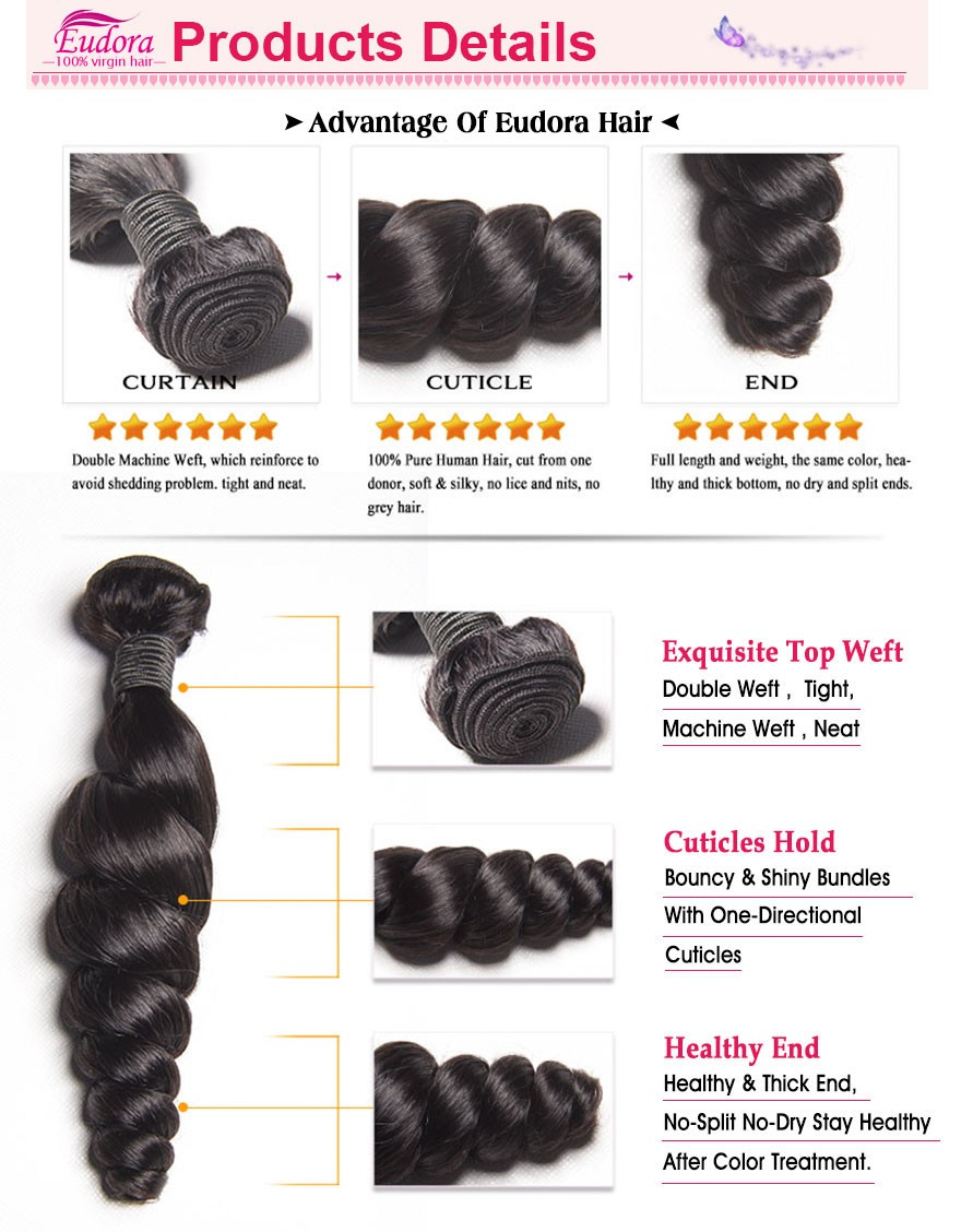 Milky Way Human Hair Weave Bella Dream Hair 6A Brazilian