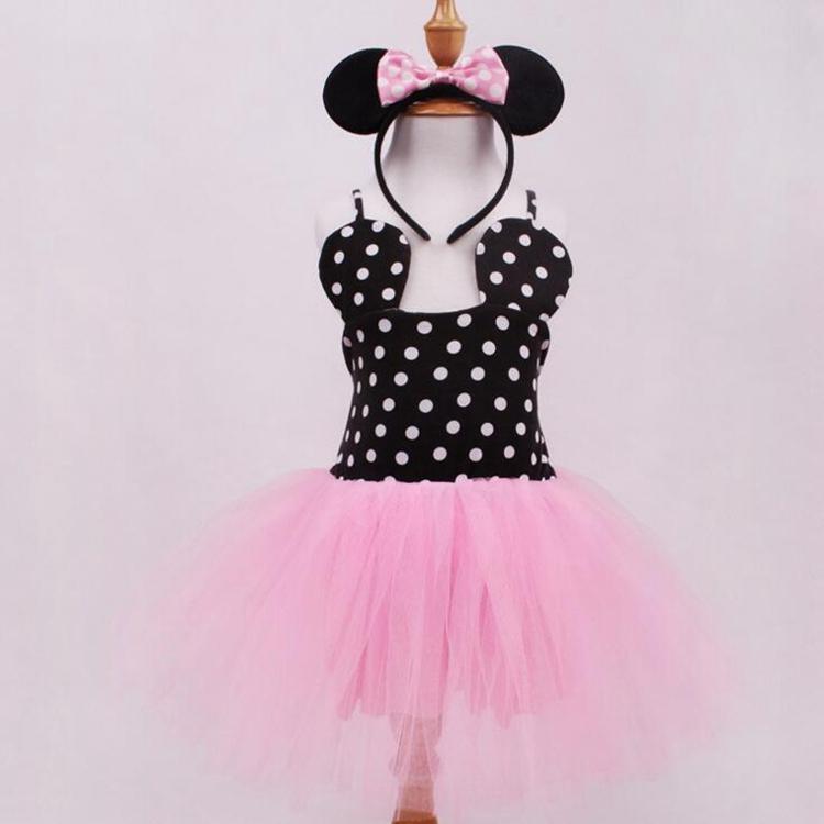 ᐃFantasia Minnie Infantil Jurkjes Lace Tutu Vestido de Novia Venda ...