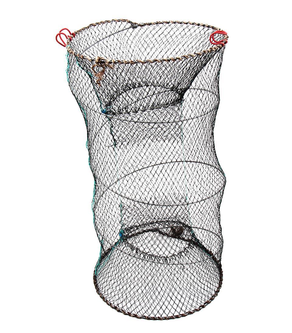 ᐅBlueSardine Folding Fishing Net Fish Net Cage Crab Trap Cast Net ...