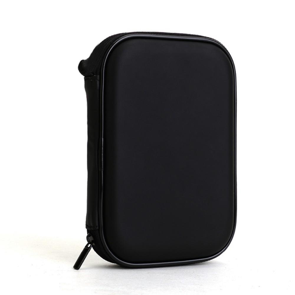3da3dc613 ₩Alta calidad Universal Negro cremallera portátil externa 2.5 HDD ...