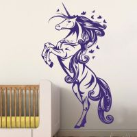 Unicorn Horse Nursery Girls Bedroom Wall Decal Decor ...
