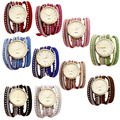 Creative 2015 New Arrive Women Dress Brand Quartz Wrist Watches Ladies Bracelet Drill Luxury Exclusive Girl
