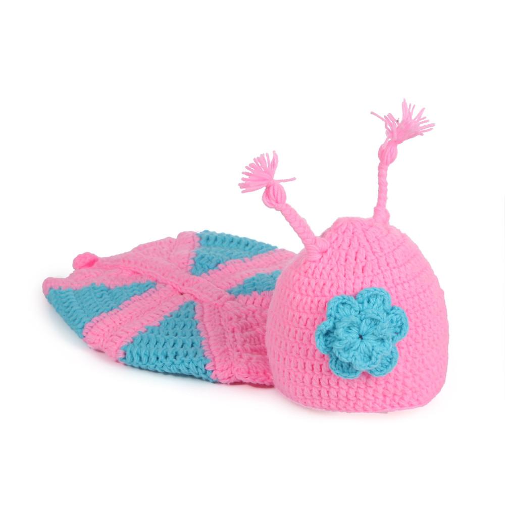 ᐂVenta caliente carácter bebé recién nacido sombrero tejido a mano ...