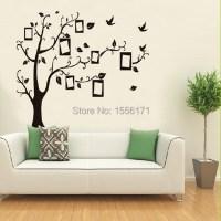 Home Decor Wall Sticker Home Black Tree Design Wall ...