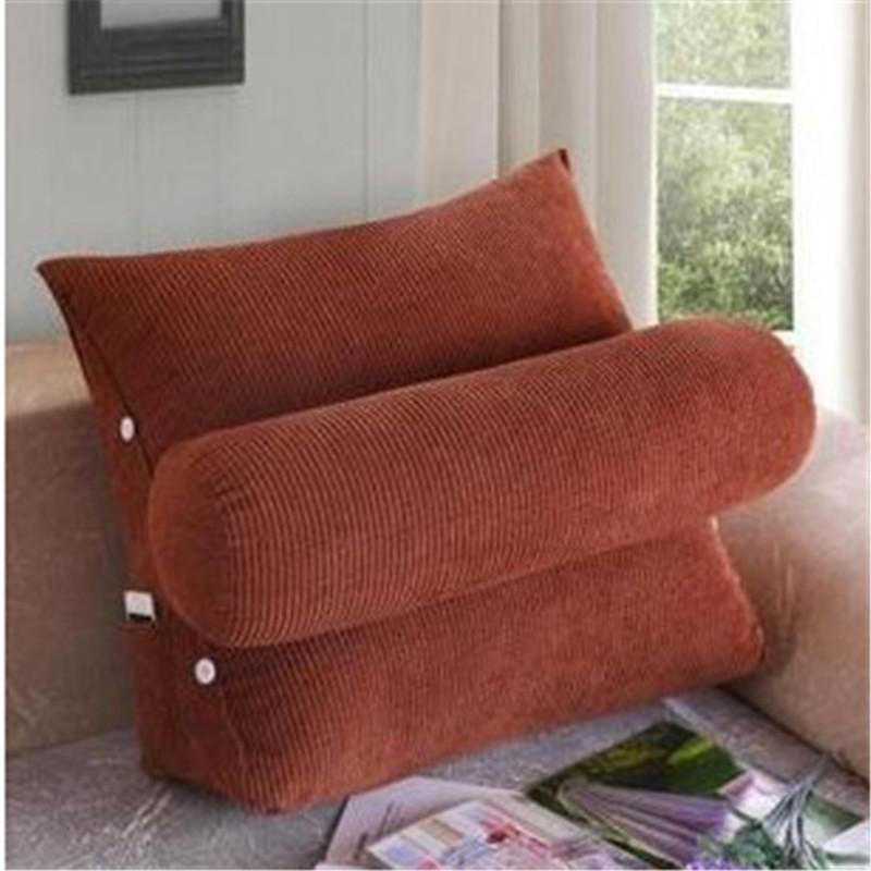 Lumbar pillow Plush Back Cushion waist pillow for Sofa Car