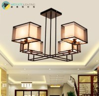 Pendant Light New Chinese Living Room Hanging Lamps And ...