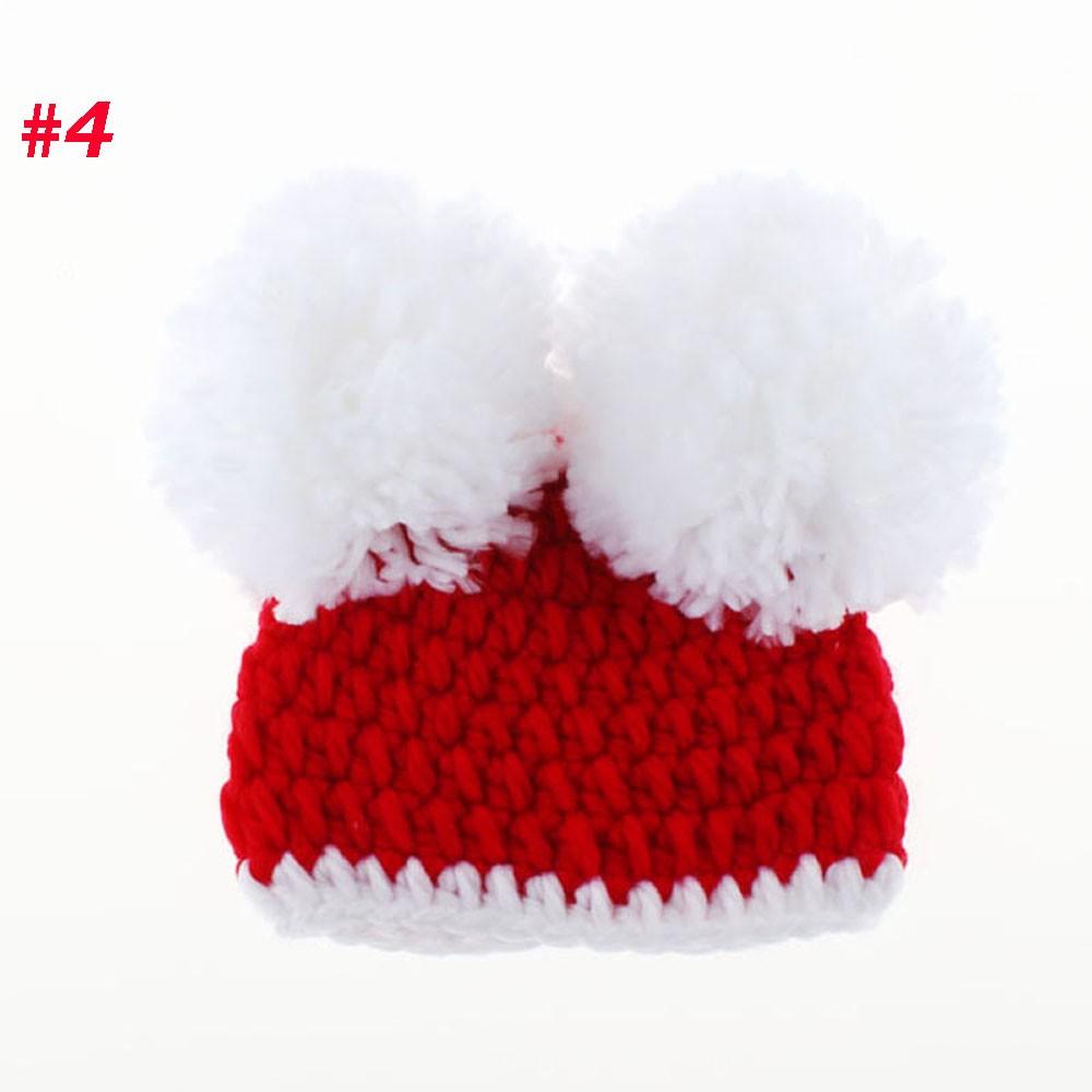 ₪Ganchillo hecho a mano fotografía apoyos sombrero del bebé recién ...
