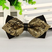 Popular Gold Bow Tie