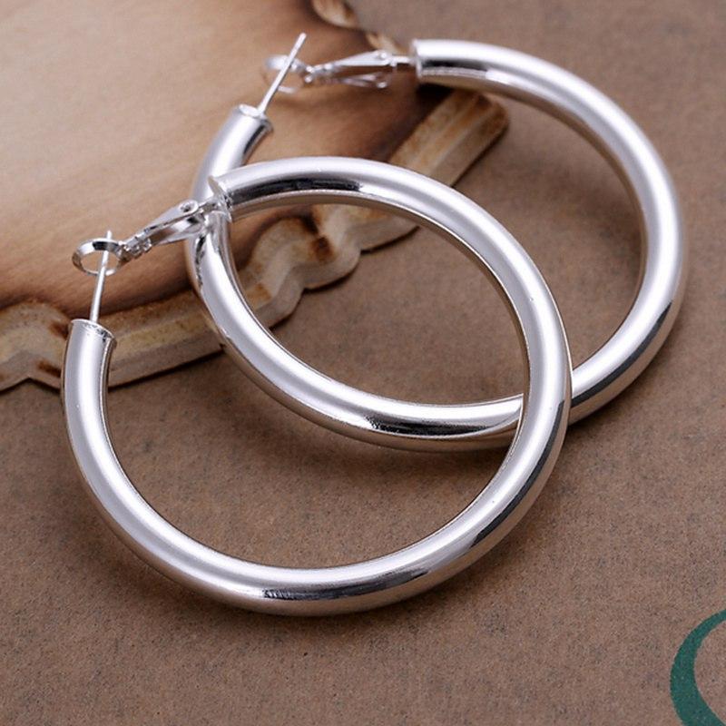 summer style fine 925 sterling silver earrings 925