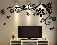 3d Three dimensional crystal Acrylic Wall Stickers Home ...