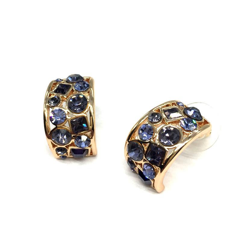 6aee869899 ②CNANIYA Women Jewelry Fashion Earrings Studs Geometric Shape ...