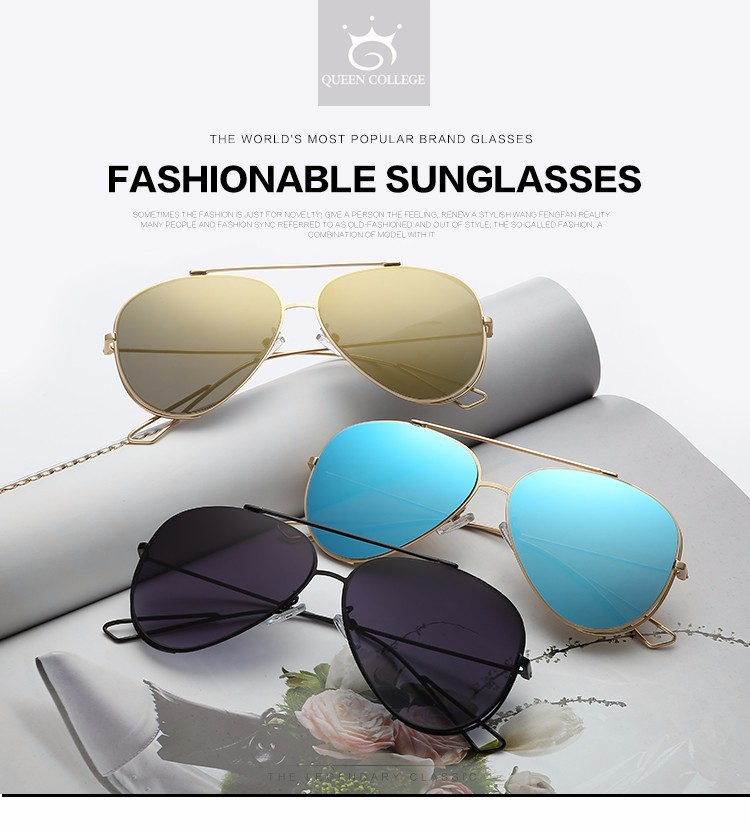 a7b7e519fe4cd ... ROZA Quadro Grife Óculos De Sol Das Mulheres Lente Espelho Decorativo  strass Cobre Duplo Feixe de Óculos de Sol UV400 QC0470USD 10.24 piece