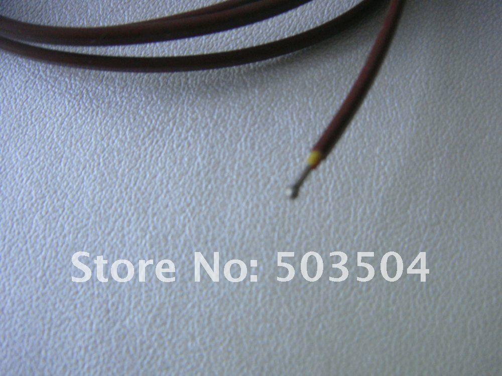 ჱ2*0.5mm K type Thermocouple with welding point Length:2M , mini ...