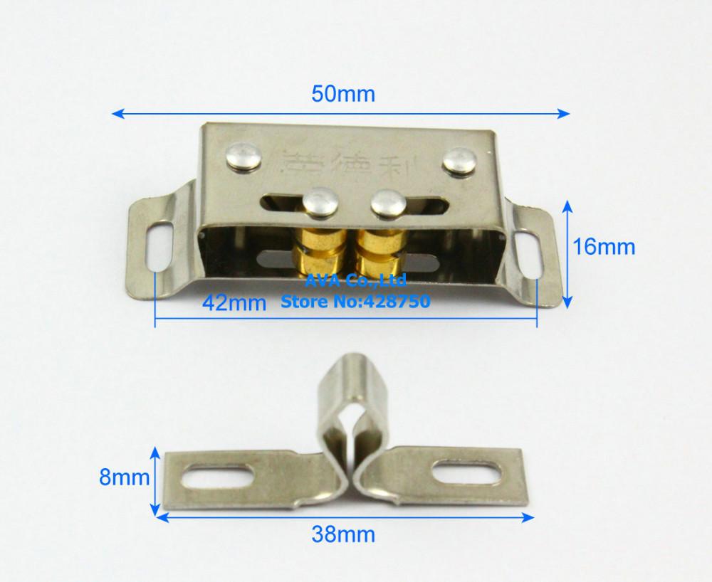 2 X CHASSE CHARNIÈRES DE PORTE zinc plaqué ou Electro Laiton 50 et 60 mm Cabinet Armoire
