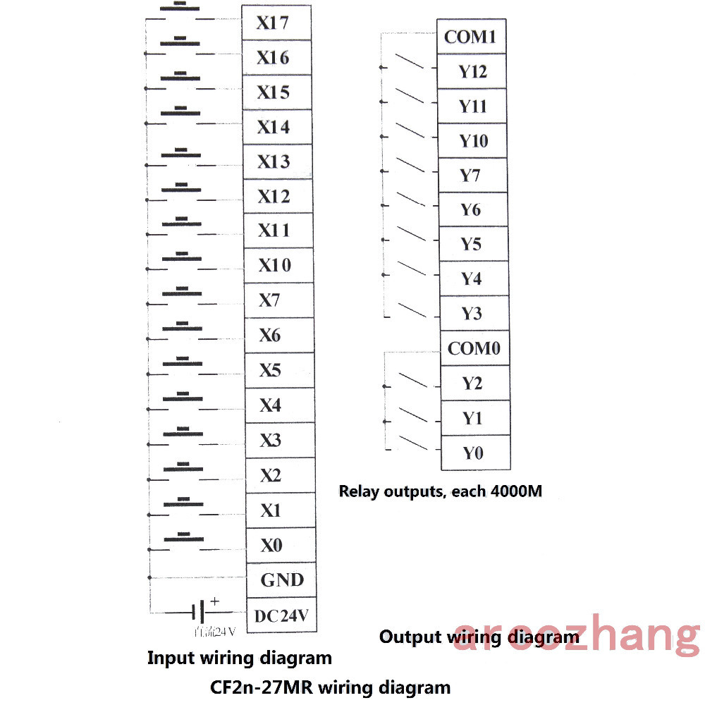 hight resolution of plc 1pc 2 rs232 cable 1pc