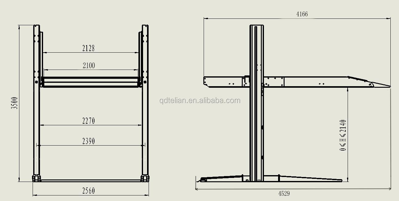 2 Post Lift: 2 Post Lift Residential Garage